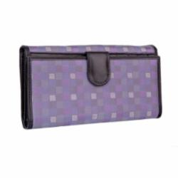 Wallet CROATA Fem Braiding Thematic Purple