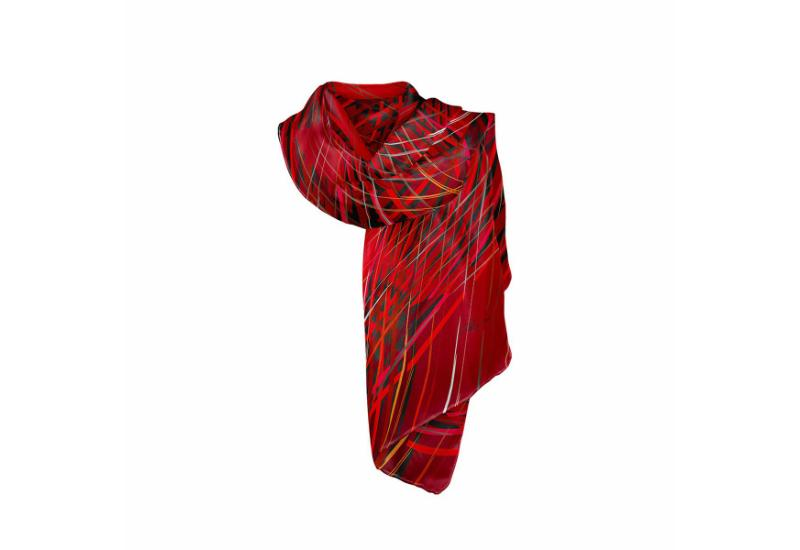 Shawl CROATA 8 Other Thematic Red