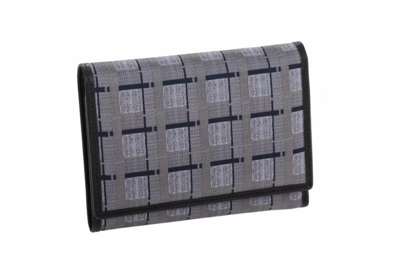 Wallet CROATA Pleter braiding Thematic Grey