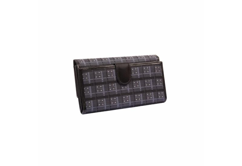 Wallet CROATA Fem Pleter braiding Thematic Dark grey