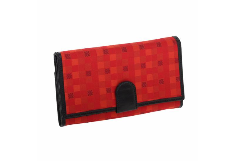 Wallet CROATA Fem Pleter braiding Thematic Red