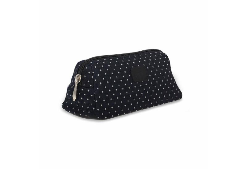 Cosmetic bag CROATA Pleter braiding Thematic Dark blue